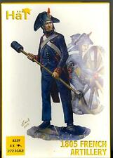 HaT Miniatures 1/72 1805 FRENCH ARTILLERY with CREW Figure Set