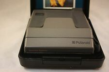 Vintage Polaroid Spectra Instant Camera System kit with Hard Case and Manuals