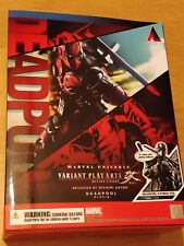 MARVEL UNIVERSE VARIANT DEADPOOL X-FORCE VER PLAY ARTS KAI FIGURE - NEW SEALED