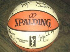 Atlanta Dream 2014 Team Autographed WNBA Ball  COA