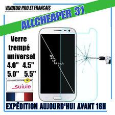 VERRE Trempé Universel tous models 4.0 4.5 5.0 5.5 pouces Authentique HQ