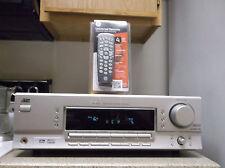 Refurbished JVC rx-5032vsl 500w 5.1 Silber Receiver nur mit gebündelten 4-1 Remote