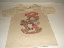 Vintage Cabbage Patch Kids CPK Baby T Shirt 18 mo
