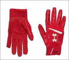 Under Armour Harper Hustle Youth Baseball Batting Gloves Red 3 Sizes