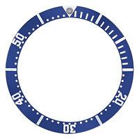 BEZEL INSERT FOR OMEGA SEAMASTER CHRONOGRAPH WATCH 2298.80 2599.80 22988000 BLUE