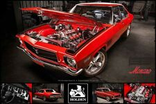Holden 1972 HQ Holden Monaro SS 195 61 x 91.5cm Poster FREE SHIPPING