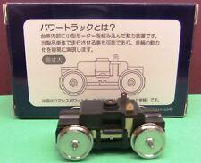 More details for tenshodo coreless motor bogie 31.0mm wheelbase, 11.5mm disc wheels swb310115tc-d