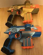 Phoenix LTX - Nerf Lazer Tag Set Of 2 Guns - Blue and Gold