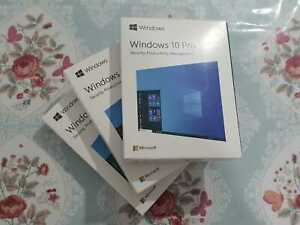 3X Open Box New Microsoft Windows 10 Pro Retail Packge Includes Usb
