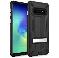 ZIZO Transform Series Case w/Kickstand - Samsung Galaxy S10 - Black Metallic