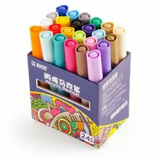 STA Acrylic Paint Graffiti Marker Watercolor Pens 24 Colors Great for Begginer