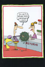 Return Christmas Light 12 Funny Boxed Christmas Cards by Nobleworks