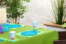 """Lime 70"""" x 108"""" rectangulaire nappe extérieur imperméable jardin salle à manger"""