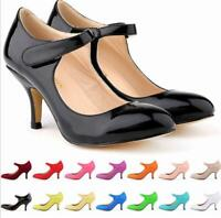 Ladies High Heel Pointed Toe Pump Roma Summer OL Party Wedding Ankle Strap Shoes