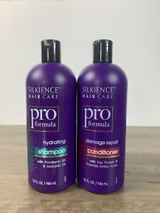 Silkience Hair Care Pro Formula Damage Repair Hair  Shampoo & Conditioner 2 Pack
