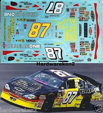 NASCAR DECAL #87 CELLULAR ONE SAFETY 2000 BGN MONTE CARLO JOE NEMECHEK SLIXX