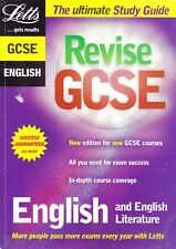 Revise GCSE English and English Literature Letts Homeschooling back to School