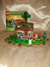 Genuine LEGO Minecraft Set - The First Night with Minifigures *Retired* 21115