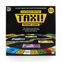 TAXI - Great British Taxi Board Game  **New - Box Damaged**