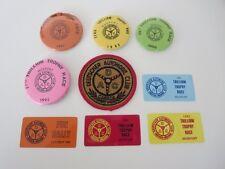 Vintage Deutscher Automobil Club of Canada Memorabilia Lot Dash Plaque Patch Pin