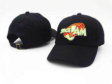 Space Jam Hat Cap Tune Squad Jordan Monstars Dad Hat Black USA SELLER