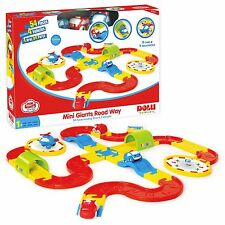 54 Piece Cars & Helicopter Road Track Driving Playing Toy Childrens Xmas Gift