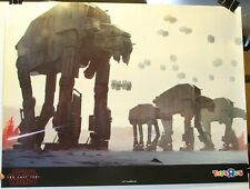 "2018 Star Wars The Last Jedi 18 x 24"" AT-AT'S Toys R Us Promo Poster"