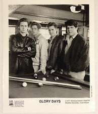 Brad Pitt /Glory Days Photo 1990 Fox TV 8 X 10 glossy B&W /early Brad Pitt photo
