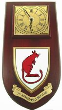 7TH ARMOURED BRIGADE DESERT RATS CLASSIC  HAND MADE TO ORDER WALL CLOCK