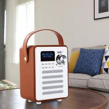 Wireless Retro DAB/DAB+ Digital FM Radio MP3 Player Speaker BT & Alarm Durable