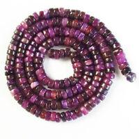 1 strand 4x2mm Purple Lepidolite Heishi Spacer Loose Bead 15.5 inch CG1927