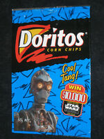 Empty Doritos Star Wars Chip Packet 1999 Tazo promotion wrapper bag original