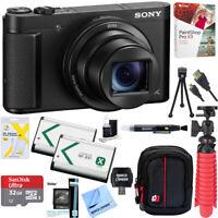 Sony Cyber-Shot DSC-HX99 High Zoom 4K Camera +32GB Dual Battery Accessory Bundle