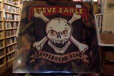 Steve Earle Copperhead Road LP sealed vinyl RE reissue