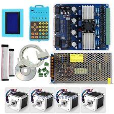 CNC Professional 4Axis TB6560 Stepper Driver Full Kit & Motor/PSU/Keypad/Display
