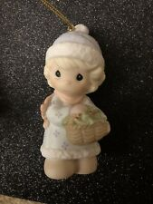 precious moments ornaments Boughs Of Holly To Make You Jolly Mib Free Shipping