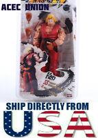 U.S.A. SELLER - NECA Red Ken 7'' Action Figure Toy Street Fighter IV