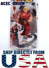 U.S.A. SELLER - NECA Red Ken 7'' Action Figure Toy Street Fighter IV