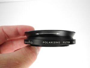 Minolta 55mm Polarizing 55N Camera Lens Filter w/ Case