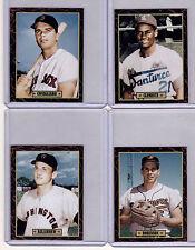 Lot of 4: Clemente Killebrew Conigliaro Brooks Robinson Ultimate Card Collection