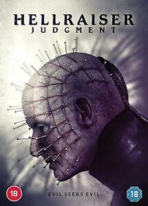 HELLRAISER JUDGEMENT (2018) DVD Pinhead New & Sealed