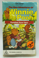 The New Adventures of Winnie the Pooh - Walt Disney -  VHS PAL Video Clam Shell