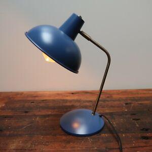 "Retro Style Blue Desk Lamp H15"""