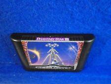 **Sega Mega Drive PHANTASY STAR III 3 Genuine Game RPG Cartridge RARE PAL