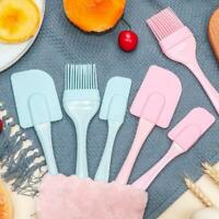 3 PCS/set Of Baking Silicone Spatula Brush, Spatula Cream Cake Cream Sup