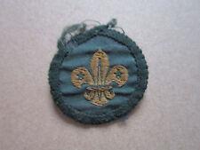 Fleur De Lis Lys Woven Cloth Patch Badge Boy Scouts Scouting (Style 1)