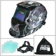 Leopard Auto Darkening Welding Helmet Mask Welders Grinding Solar Power Metal