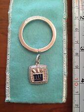 Silver Key Chain vintage nfl obj Nib 2007 Ny Giants Superbowl Tiffany Co