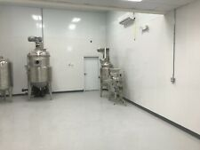 350L Alcohol Recovery System and 50L Decarboxylation vessel - SciPhy Systems