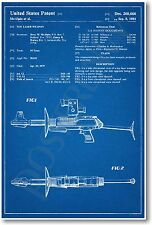 Toy Laser Rifle Patent -  NEW Vintage Invention Patent Poster